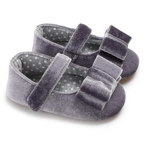 C - 479 0 - 1 Year Old Summer Girl Baby Toddler Shoes - GRAY EU 23
