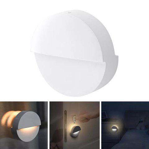 Xiaomi Mijia Bluetooth LED PIR Body Sensor Smart Night Light - WHITE