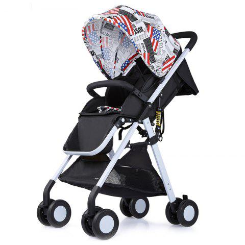 509 Shock Absorption Stroller - ACU CAMOUFLAGE