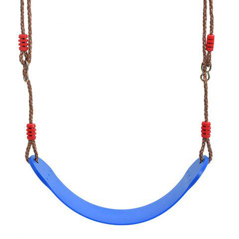 EVA Soft Board Swing with Rope - BLUE