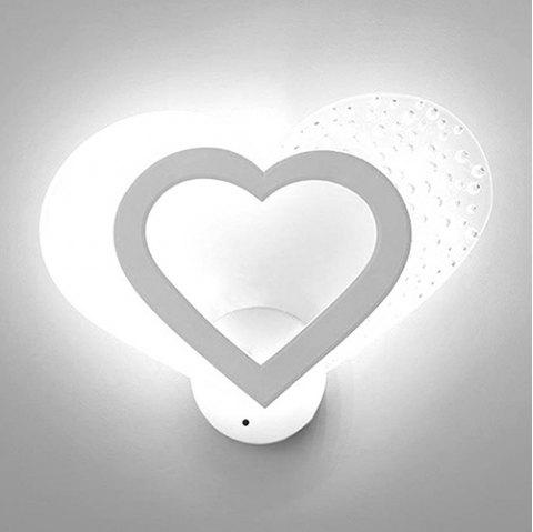 BRELONG TG94 Warm Romantic Night Light Creative LED Wall Lamp - WHITE WHITE LIGHT