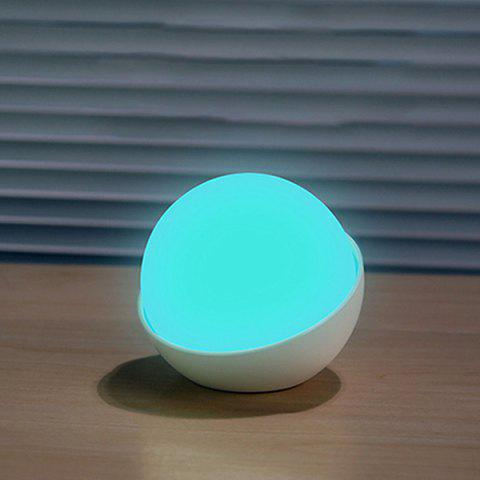 BRELONG PD - 41 LED Silicone Touch Switch Large Capacity Battery USB Night Light - WHITE