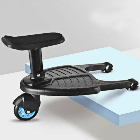 Small Stroller Step Board Child's Auxiliary Pedal - LIGHT SLATE