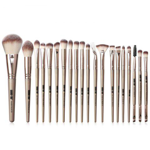 MAANGE MAG5748 Makeup Brushes Set Beauty Make Up Tools 20pcs - CHAMPAGNE GOLD