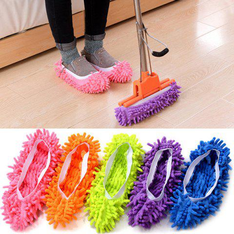 Detachable Cleaning Non-slip Shoe Cover 3 Pairs - LIGHT PINK