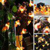 BRELONG TA - 022 LED Solar Outdoor String Light for Holiday Decoration - BEE YELLOW 20 LEDS