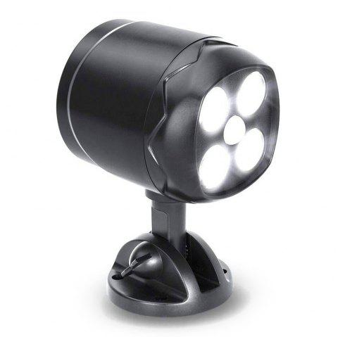 BRELONG SLGL - 24Y 4 LEDs Super Bright Motion Sensor Light - BLACK