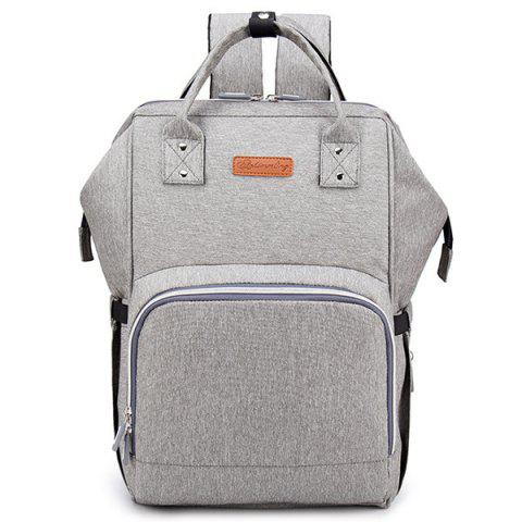 LD8024 Multi-function Mummy Bag - LIGHT GRAY