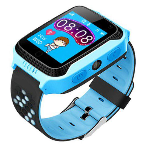 Q529 1.44 inch LCD Display Children Smart GPS Positioning Watch - BLUE
