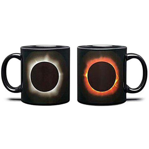 Creative Household Color Changing Cup - BLACK