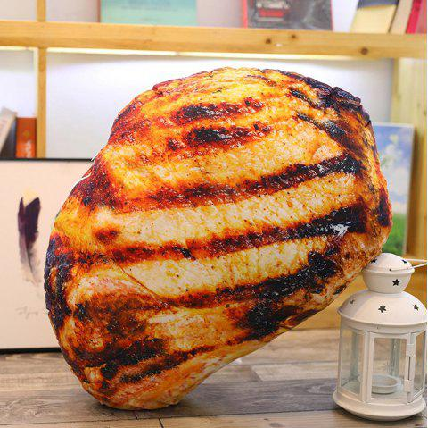 Simulation BBQ Food Pillow Toy - multicolor A ROASTED PORK CHOPS