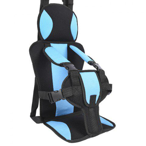 Small Child Portable Car Safety Seat - BLUE