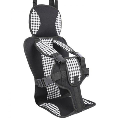 Small Child Portable Car Safety Seat - multicolor B