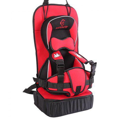Fashio Safety Seat for Children - RED INCREASED  MODEL