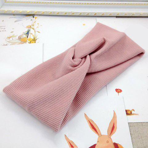 European and American Style Cross Hair Band - PINK