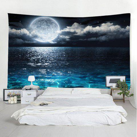 Moon Sea Star Tapestry Home Decoration - multicolor A W91 X L71 INCH
