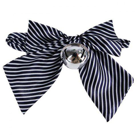 Pet Dog Bow Tie Collar - MIDNIGHT BLUE