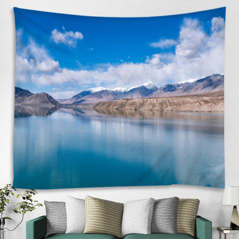 Natural Scenery Home Decoration Tapestry - SKY BLUE W79 X L59 INCH