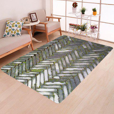 Floor Mat Home Fashion Carpet - multicolor A W63 X L78.5 INCH