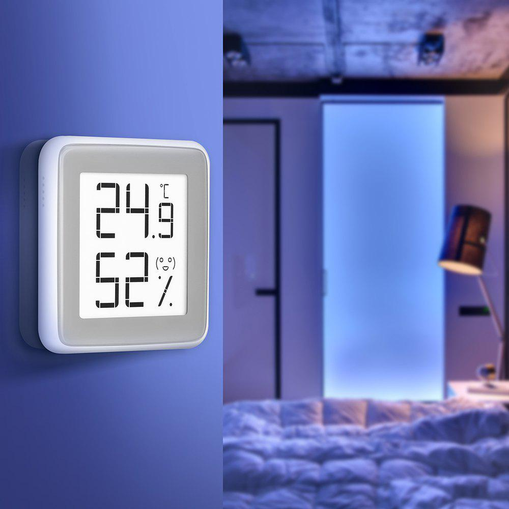C201 Creative Thermometer and Hygrometer from Xiaomi youpin - WHITE 1PC