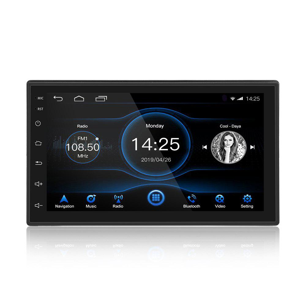 K2001N 7.0 inch Touchscreen 2 DIN Car Multimedia Player Bluetooth Built-in GPS Navigator FM Station WiFi Connection