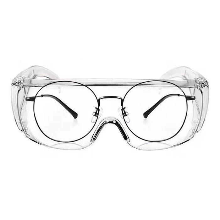 Saliva Droplets Anti-splash Goggles Protective Glasses Riding Windproof Epidemic Factory Direct Spot Boys And Girls - TRANSPARENT