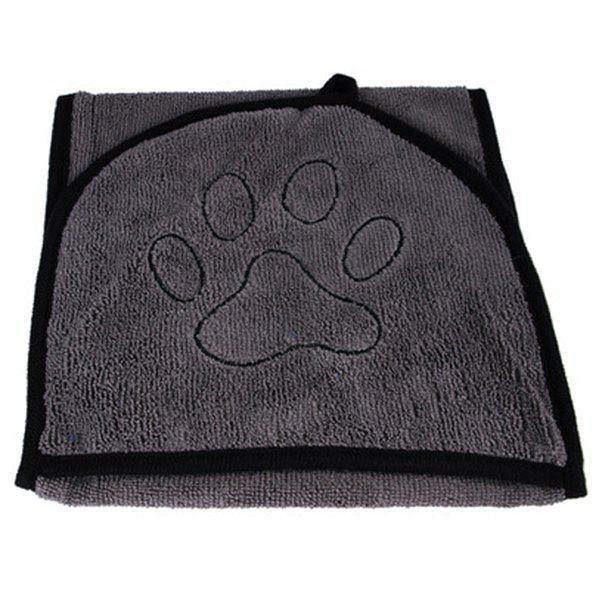 Pet Absorbent Bath Towel Dog Cat Cleaning Supplies