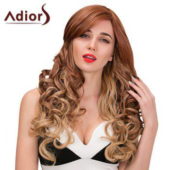 Adiors Long Side Part Wavy Color Mix Synthetic Wig