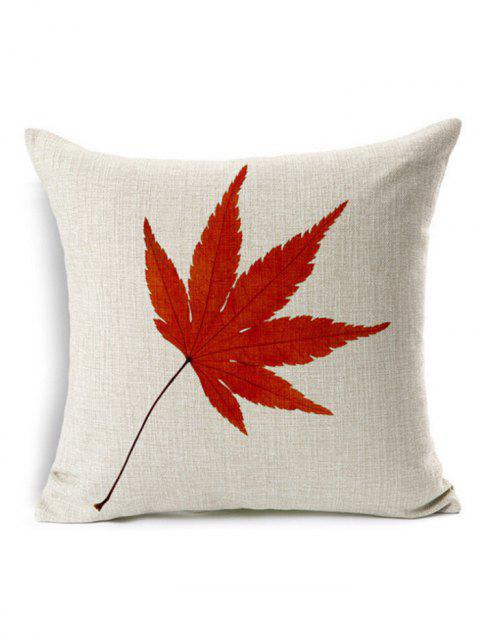 Maple Leaf Cushion Cover Pillow Case - PALOMINO 45*45CM