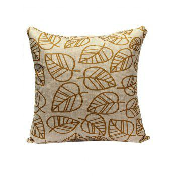 Leaves Pattern Pillow Case