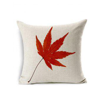 Maple Leaf Cushion Cover Pillow Case