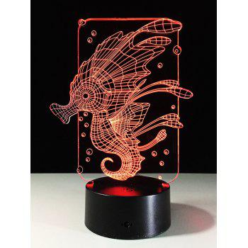 3D Animal Color Change Table Decor LED Night Light