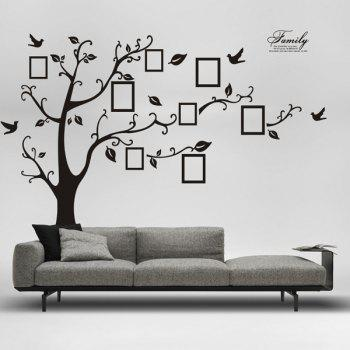 DIY Photo Tree Adhesive Wall Stickers