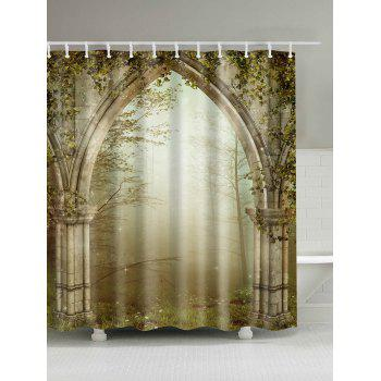 Dreamy Creepers Archway Waterproof Shower Curtain