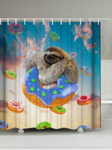 2018 shower curtains online store best shower curtains for Sloth kong shower curtain