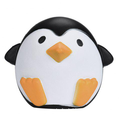 Cute Penguin Soft PU Foam Squishy Toy Stress Relief Product Relaxation Gift - COLORMIX