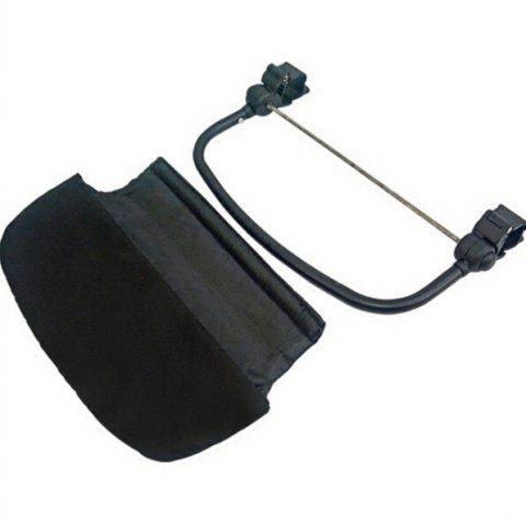 New General Baby Stroller Extended Footboard Accessory Footrest - BLACK