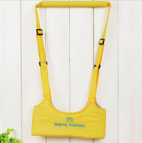 Ventilate Cotton Toddler Safety Harness Leash Walking Protection Belt - YELLOW