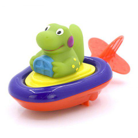 Baby Floating Boat Racing Bath Toy - COLORMIX STYLE 2