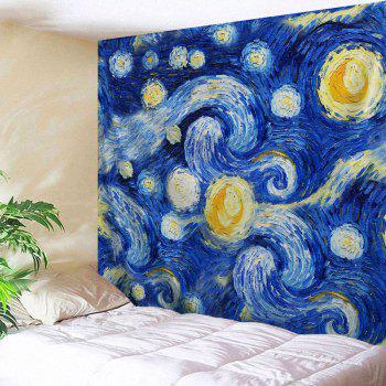 Galaxy Oil Painting Wall Hanging Tapestry