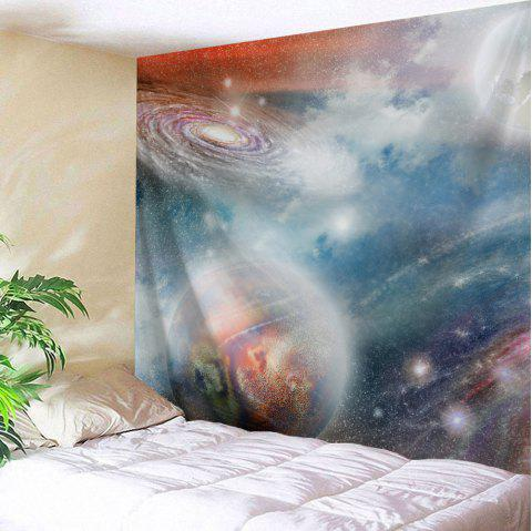 Dreamlike Galaxy Wall Tapestry Bedroom Decoration - COLORMIX W51 INCH * L59 INCH