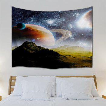 Interstellar Massif Fabric Wall Decoration Tapestry - COLORMIX W51 INCH * L59 INCH