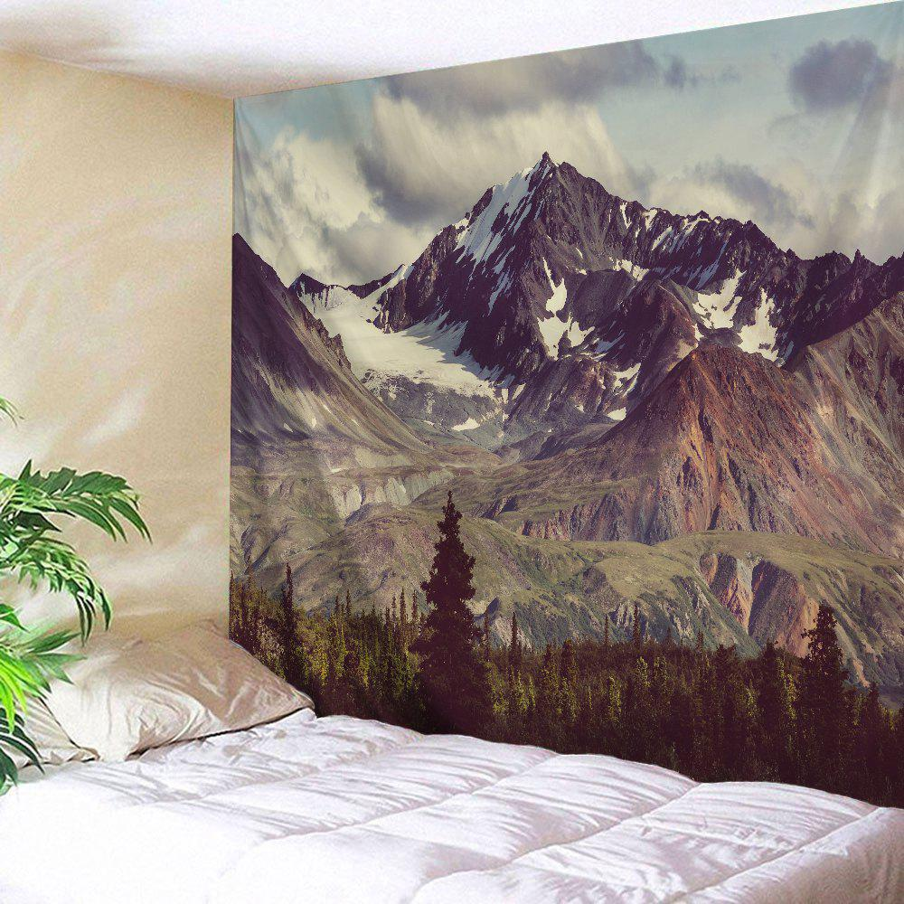 Mountain Scenery Wall Hanging Decoration Tapestry valentine s day heart starlight print tapestry wall hanging decoration