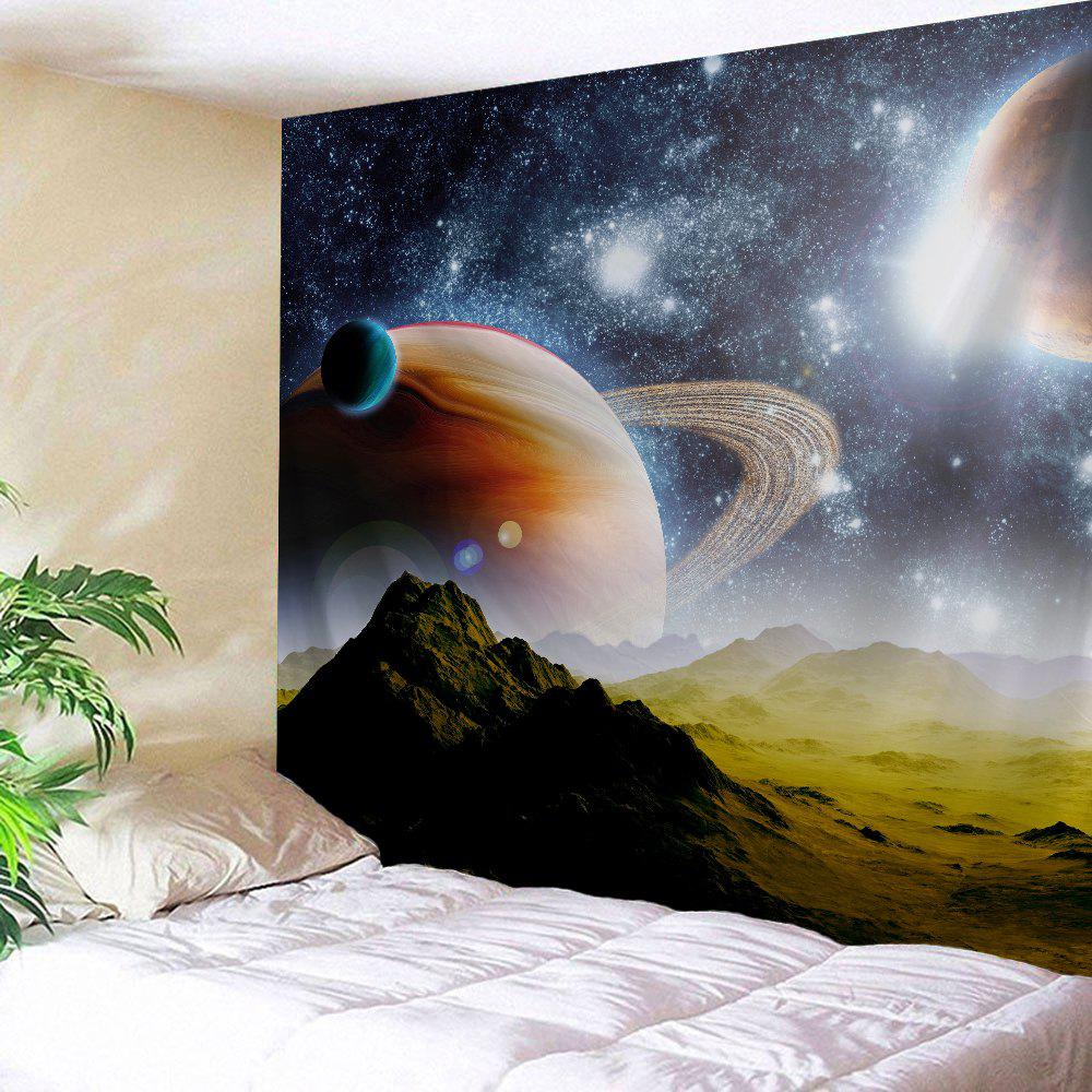 Interstellar Massif Fabric Wall Decoration Tapestry - COLORMIX W59 INCH * L79 INCH