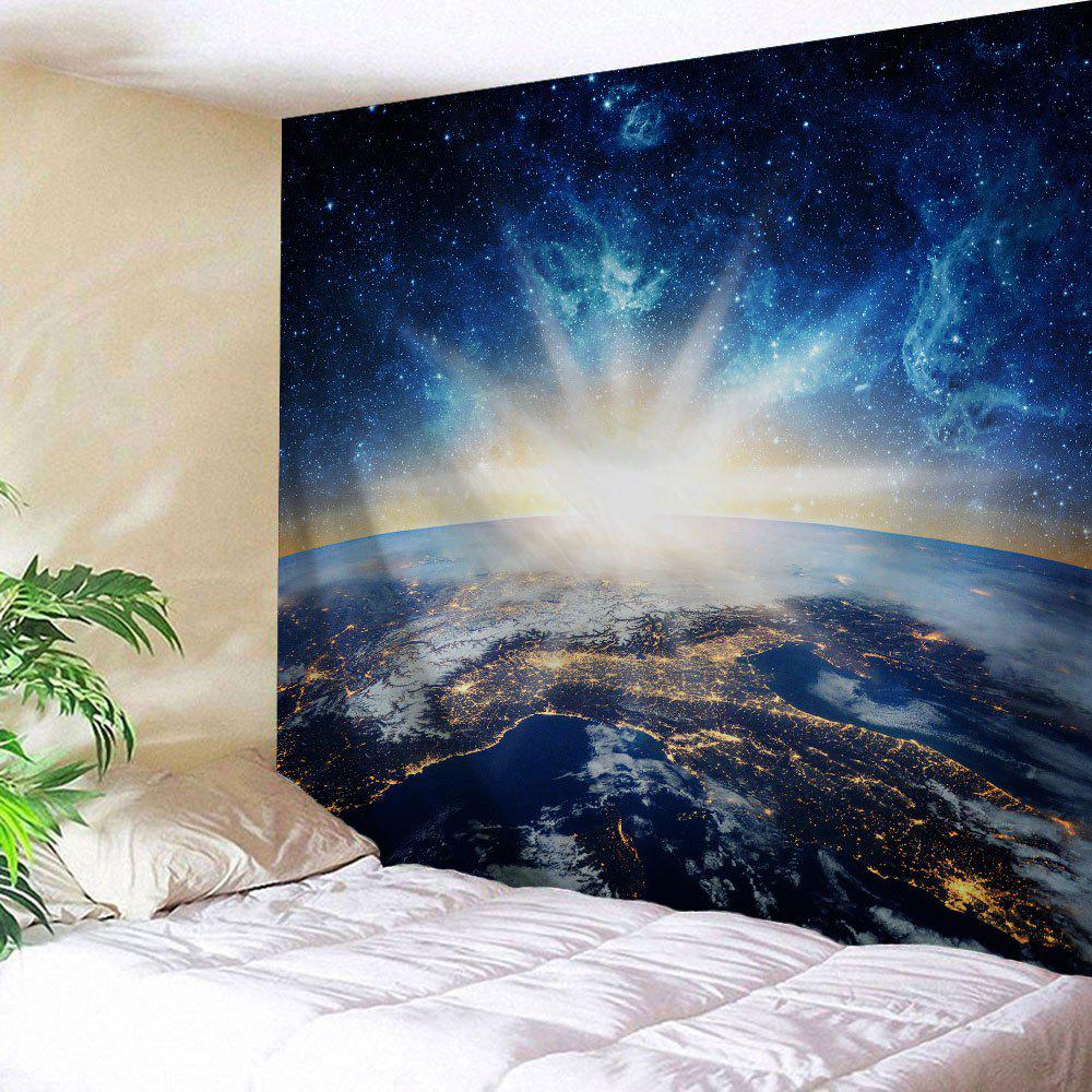 Universal Space Fabric Wall Hanging Tapestry wall hanging watercolor space throw tapestry
