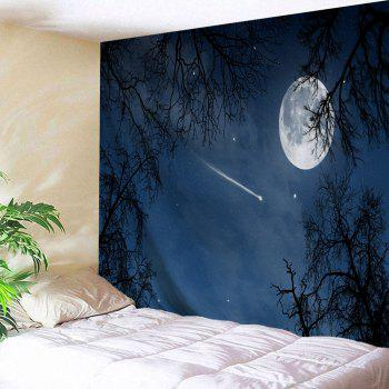 Moonnight Meteor Fabric Decorative Wall Tapestry
