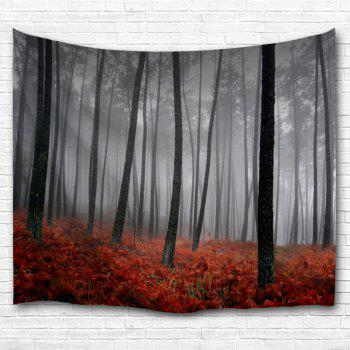 Foggy Grove Wall Tapestry For Dorm Decor - GRAY W51 INCH * L59 INCH