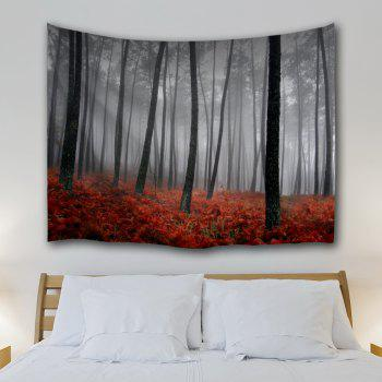 Foggy Grove Wall Tapestry For Dorm Decor - GRAY W59 INCH * L59 INCH