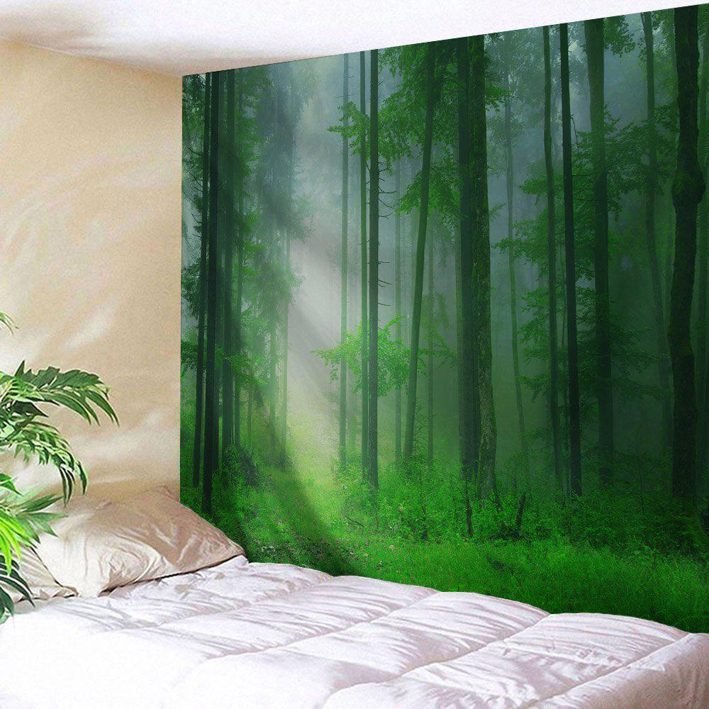 Foggy Forest Bedroom Tapestry Wall Hangings все цены