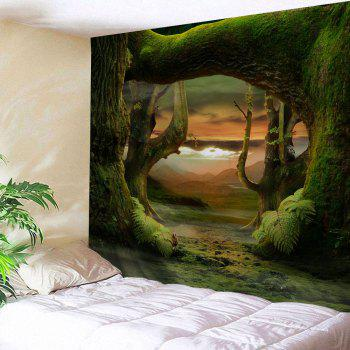 Fairyland Forest Room Decorative Wall Tapestry